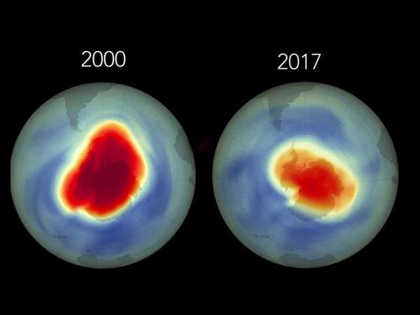 रंग लाई वैज्ञानिकों की मेहनत, अंटार्कटिका पर ओजोन परत में अपेक्षा से ज्यादा सुधार