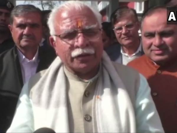 Manohar Lal Khattar on roadshow of Rahul Gandhi Priyanka Gandhi in Lucknow