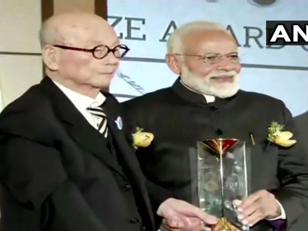 सियोल: प्रधानमंत्री नरेंद्र मोदी बने दक्षिण कोरिया के शांति पुरस्कार से सम्मानित होने वोल 14वें व्यक्ति