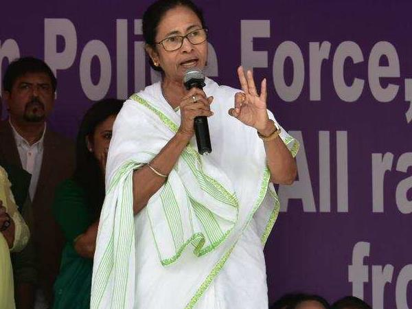 mamata banerjee statement over centre action against officers who participate her dharna
