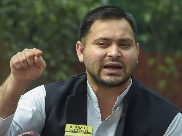 tejashwi yadav written letter to governor phagu chauhan
