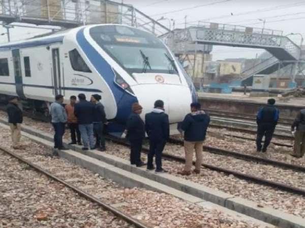 प्रयागराज: वंदे भारत ट्रेन की चपेट में आकर मजदूर की मौत, ड्यूटी के बाद लौट रहा था घर