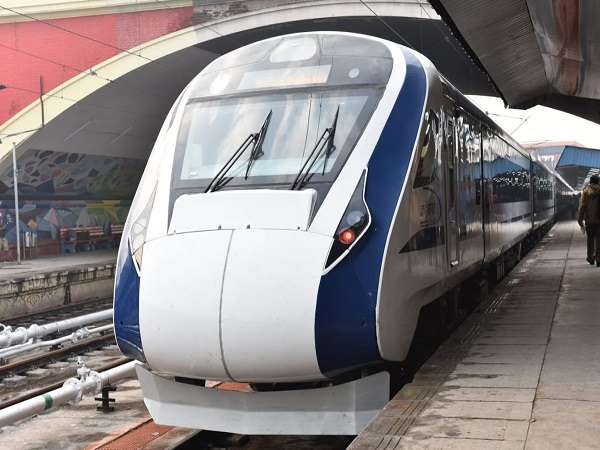 Indias fastest train Vande Bharat Express hit by stones, third time in two months