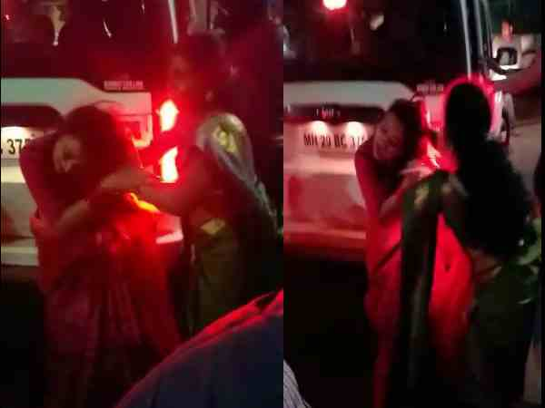 bjp mla second wife thrashed by first wife video viral