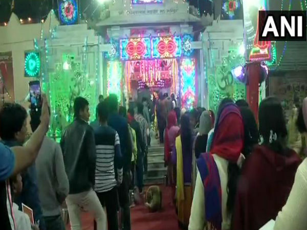 Devotees throng Shiva temple on the occasion of Mahashivratri
