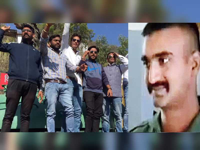 Abhinandan coming back and ajmer youth celebrate this moment