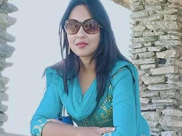 womens day: Haldwani Alba Mandrele top assistant professor exam