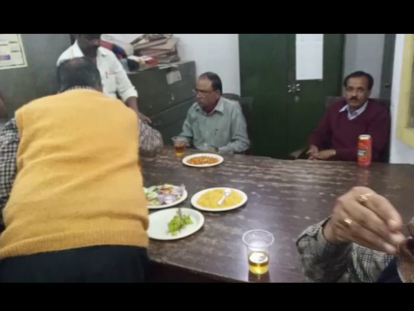alcohol party in the government administration in bareilly