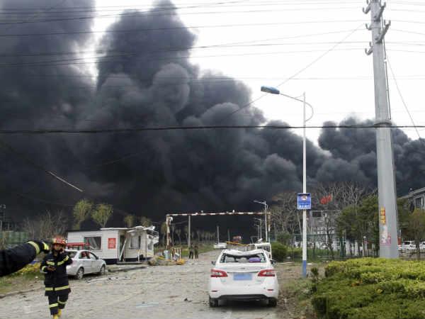 चीन: केमिकल प्लांट में ब्लास्ट से अब तक 47 लोगों की मौत, 640 घायल