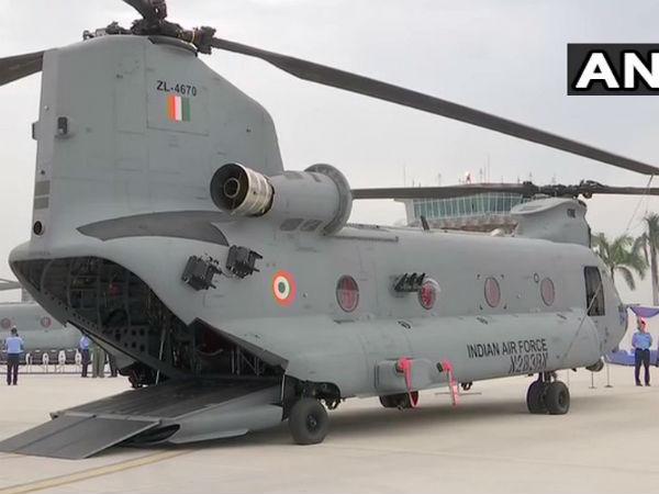 आज इंडियन एयरफोर्स में शामिल होगी अमेरिकी हेलीकॉप्टर चिनुक की पहली यूनिट, चंडीगढ़ में रहेंगे तैनात
