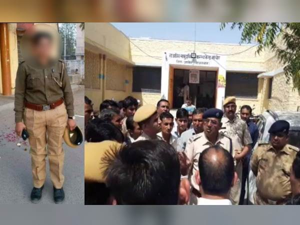 sanchore police Lady constable hangs self in Jalore district