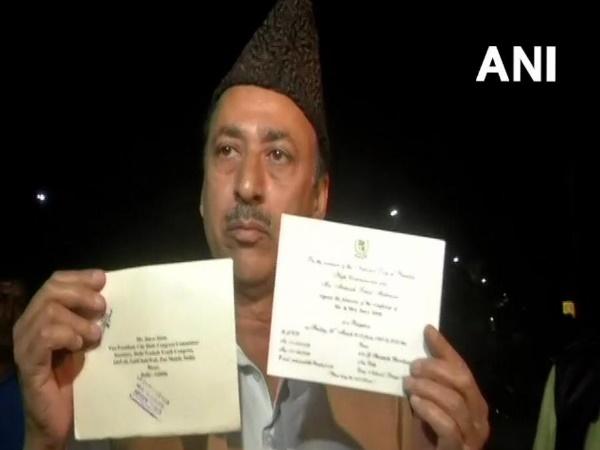 दिल्ली यूथ कांग्रेस के उपाध्यक्ष जैन-ए-आलम को पाकिस्तान डे पर मिला निमंत्रण