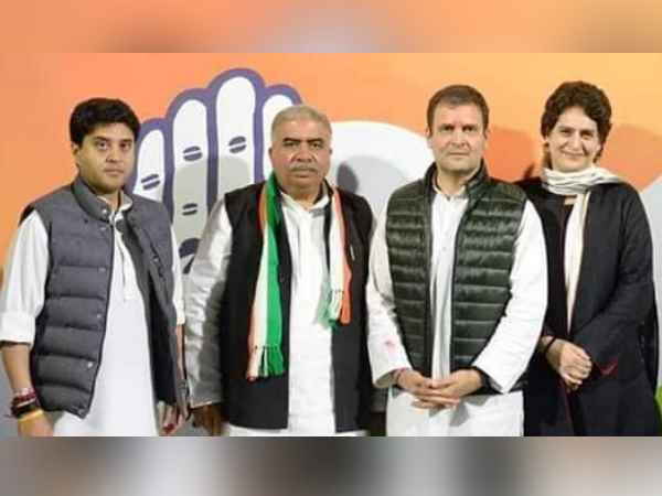 former mp rakesh sachan join congress