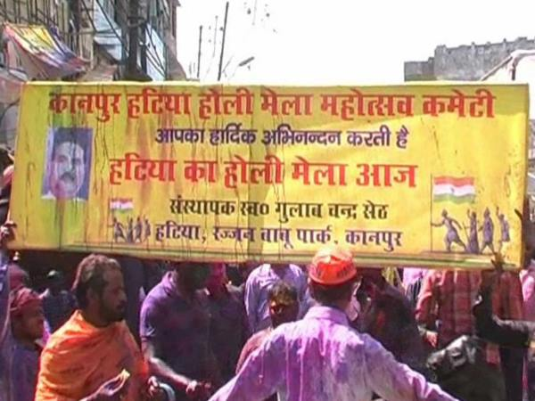 one week holi celebration in kanpur