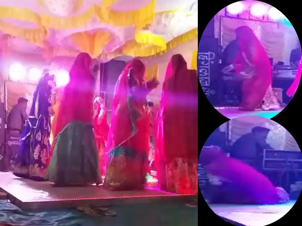 राजस्थान: महिला डांस करते करते हुई दुनिया से विदा, मौत का LIVE वीडियो वारयल