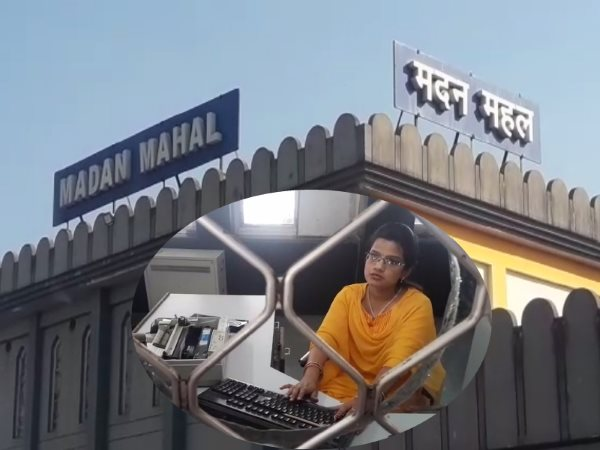madan mahal railway station jabalpur MP
