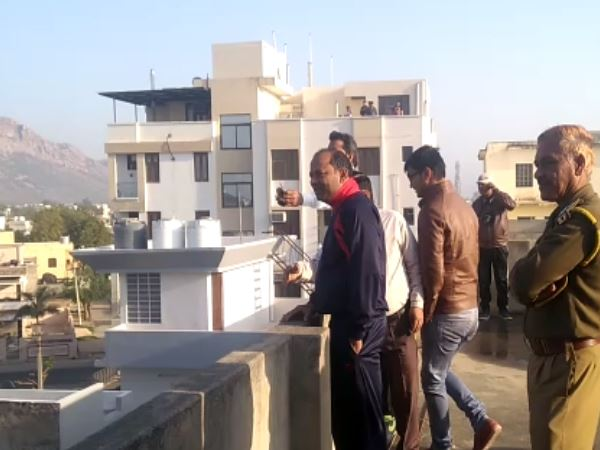 panther spotted in residency colony of alwar