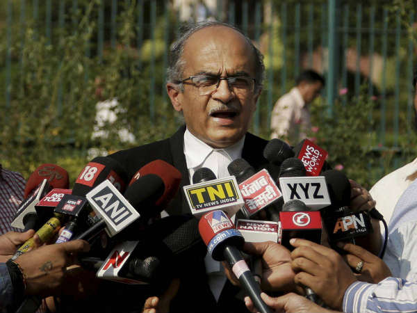 contempt case: Prashant Bhushan admits he made genuine mistake in his tweets