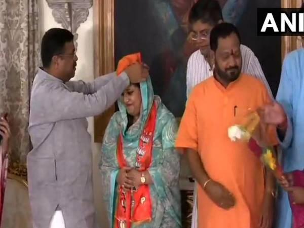 ओडिशा में बीजद को तगड़ा झटका, बीजेपी में शामिल हुईं सांसद प्रत्यूषा राजेश्वरी सिंह