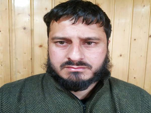 Hizbul Mujahideen terrorist Rameez Ahmad Dar arrested from Anantnag in South Kashmir