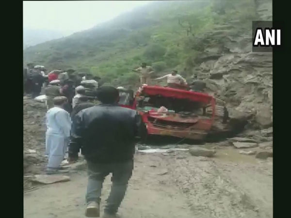 Jammu & Kashmir: 5 people were killed and 11 people were injured in a bus accident in Doda earlier today; Those injured are receiving medical treatment at a hospital in Doda.