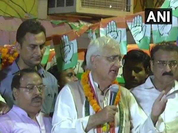 Lok Sabha Elections 2019:  सलमान खुर्शीद ने कहा-मेरे और मोदी के बीच जो आएगा चकनाचूर कर दूंगा