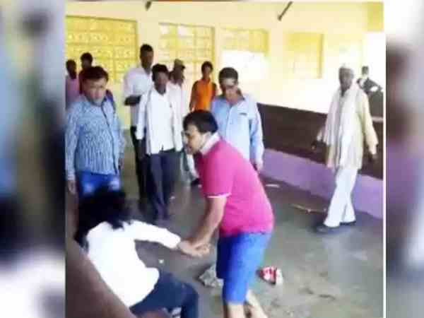 girl and lover beaten by family