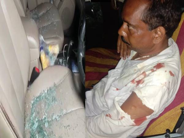 Bomb hurled at vehicles of BJP and BJD MLA candidates from Bhubaneswar in odisha