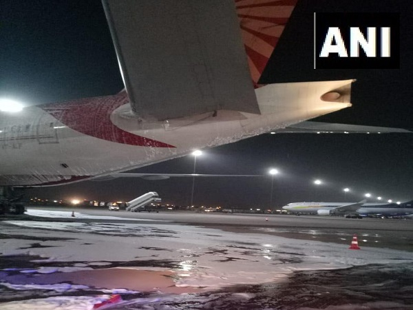 Air India Delhi to San Francisco flight caught fire in APU at Delhi airport