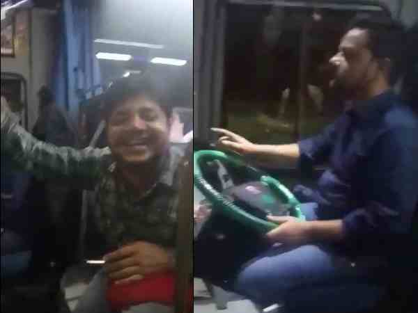 video of drunk driver driving bus goes viral