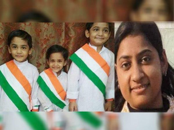 पत्नी और तीन बच्चों की निर्मम हत्या का आरोपी चढ़ा पुलिस के हत्थे, कर्नाटक से हुई गिरफ्तारी