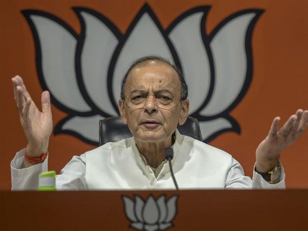 48 साल पुराने एजेंडे पर चुनाव लड़ रही है कांग्रेस- अरुण जेटली