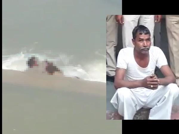 महिला के मर्डर का लाइव : ये शख्स उसे पानी में डुबो-डुबोकर मार रहा था, लोग बना रहे थे VIDEO