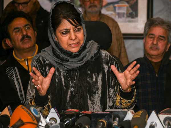 Complaint against Mehbooba Mufti over 'seditious' tweet