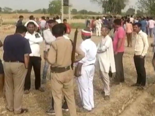 five year old boy falls into 100 feet deep borewell in mathura