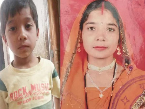 mother and son killed in bikaner after lpg cylinder blast