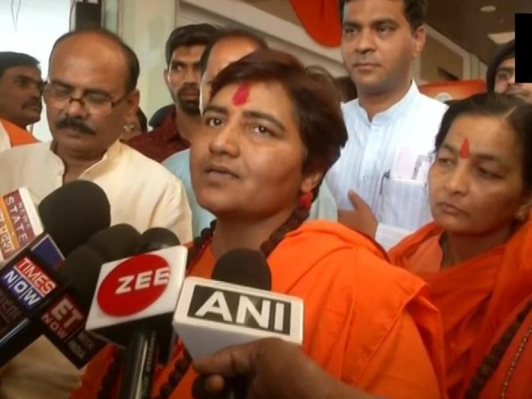 BJP MP candidate from Bhopal Pragya Singh Thakur says Congress has been conspiring continuously