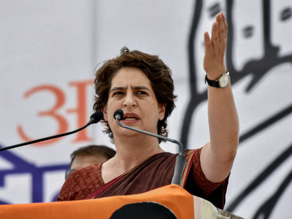 Priyanka Gandhi challenges PM Modi, says last two phase of election fight on demontisation and GST