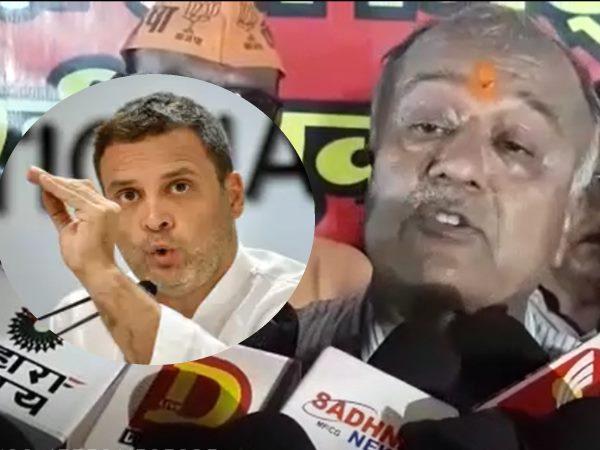 राहुल गांधी आलू से सोना के बाद अब ला सकते हैं आदमी से औरत बनाने की मशीन-नंदकुमार सिंह चौहान