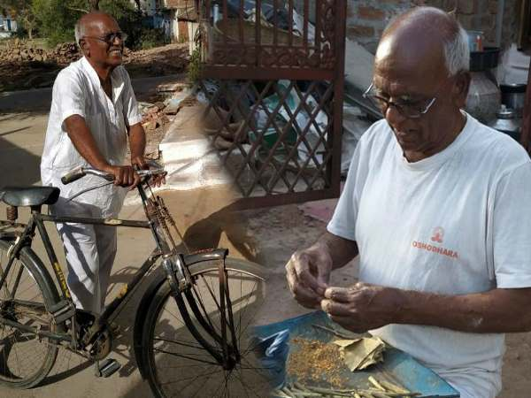 meet former Former MP Ramsingh ahirwar who made Beedi and travel with bicycle