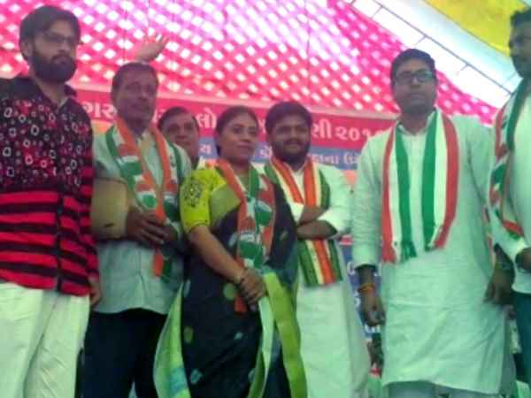 Cricketer Ravindra Jadeja sister and father joined Congress
