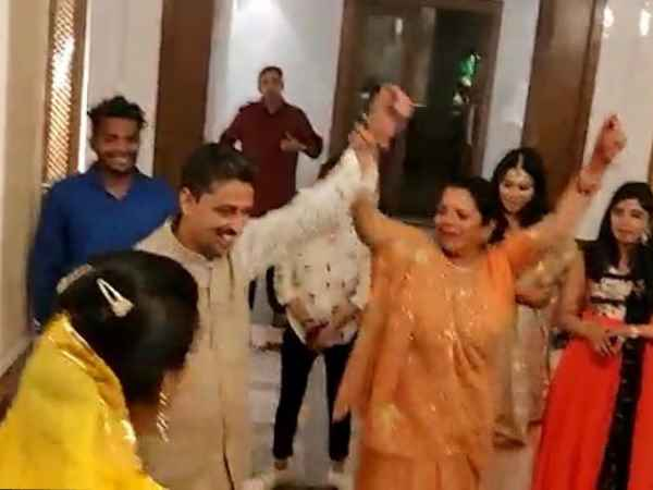 congress candidate imran masood dance with wife video viral
