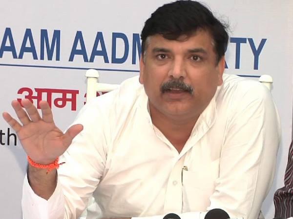 एग्जिट पोल के नतीजे सामने आने के बाद संजय सिंह ने किया बड़ा दावा