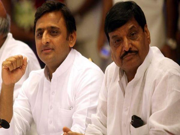 अखिलेश ने चाचा पर लगाया BJP नेताओं से मिलने का आरोप, भड़क गए शिवपाल यादव