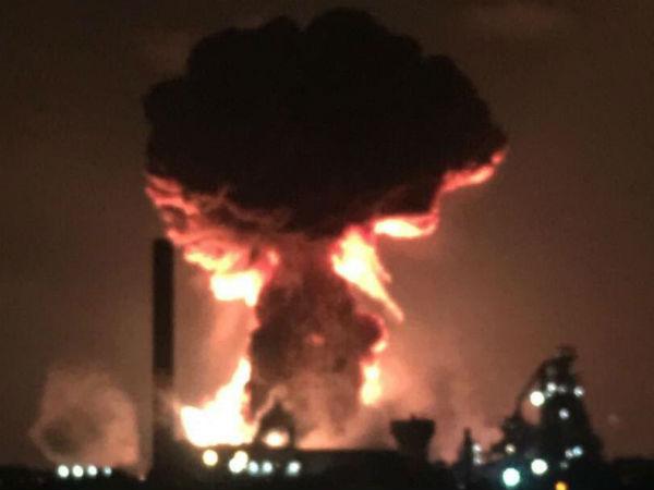 टाटा के UK में पोर्ट टालबोट स्टील प्लांट में तीन ब्लास्ट, दो लोग घायल