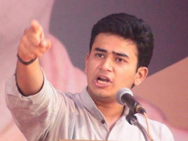 Tejasvi Surya said Congress for attempting to derail the election campaign of its opponents using