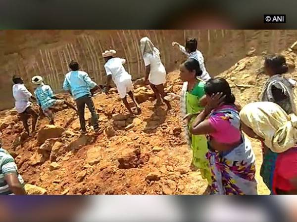 Ten labourers, including women, died after wall collapsed in Marikal village in Telangana