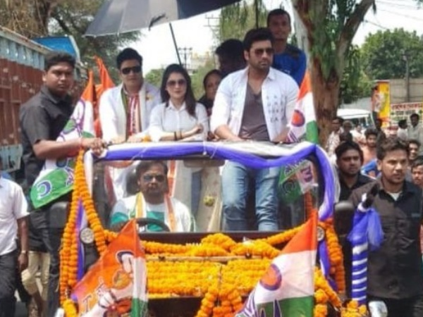 Bangladesh actor Ferdous Ahmed campaigns for TMC, bjp has moved Election Commission