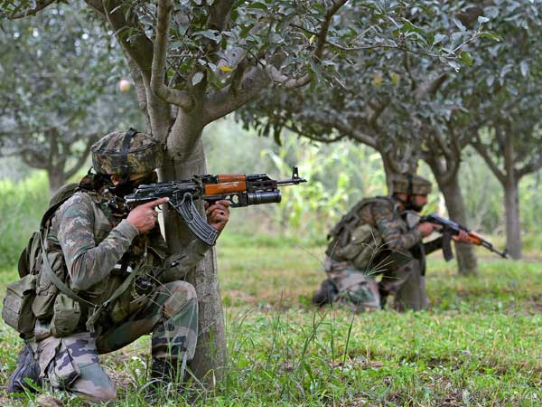 Two terrorists kiied in encounter with security forces at Anantnag in jammu kashmir