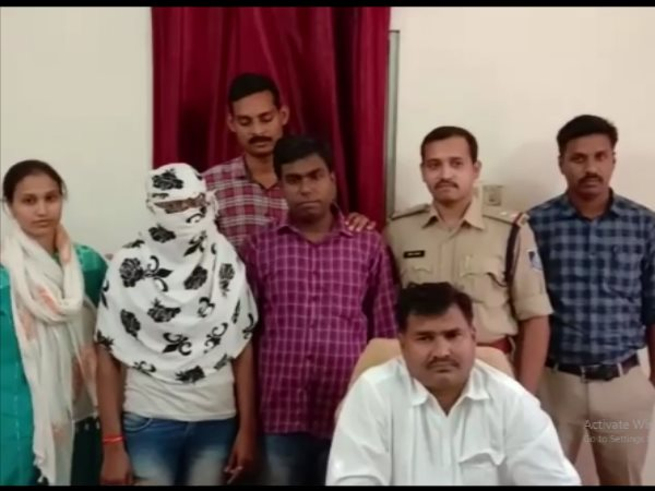 Brother Sister Arrested by Ujjain Police in Cybercrime